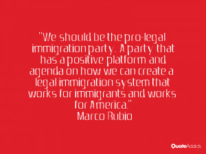 ... immigration system that works for immigrants and works for America.. #