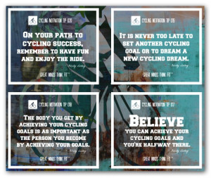 Cyclist Quotes Collage 17 - 20