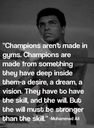 Enjoy the best of Muhammad Ali quotes . Famous Quotes by Muhammad Ali ...