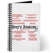 Greys Anatomy Journals & Spiral Notebooks
