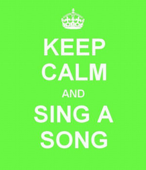 singing quotes | Life In A Nutshell • My new motto :)