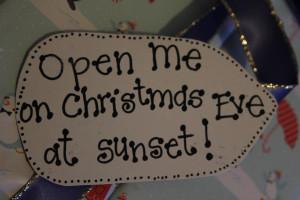 Christmas Eve Surprise Box. Include: new pajamas, Christmas movie ...