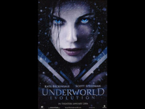 Underworld Evolution Movie (Kate Beckinsale Original) Poster Print