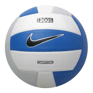 Nike 3005 NFHS Volleyball - White/Grey/Blue