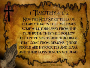 Timothy 4:1-2 Authorized (King James) Version (AKJV) 4 Now the ...