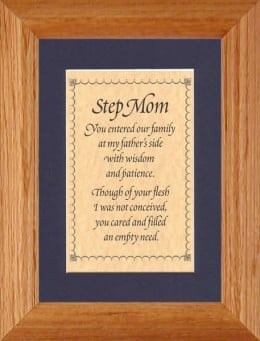 Step Mom Quotes Sayings