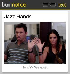 Another funny quote from Burn Notice. Thanks Burn Notice sync. ( I ...