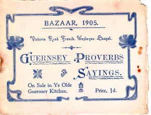 Description Guernsey Proverbs and Sayings 1905.djvu