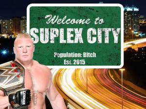 "Video: Brock Lesnar's Now Famous ""Suplex City, B*tch"" Quote From ..."