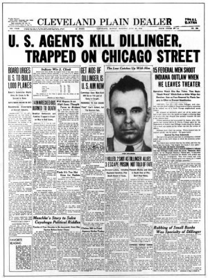 Public Enemies & John Dillinger (News, etc.)