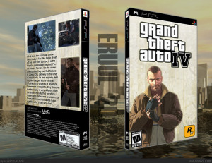 Viewing full size Grand Theft Auto IV box cover by eruul2012 [ Back ]
