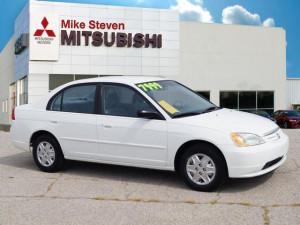 Get a Quick Quote - 2003 Honda Civic LX - Mike Steven Mitsubishi