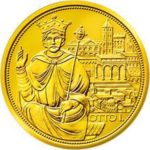 Imperial Crown of the Holy Roman Empire commemorative coin