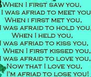 When I First Time Saw You....