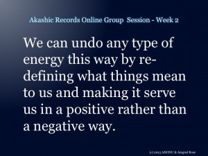 From the 2nd Akashic Records Online Group session - more here http ...