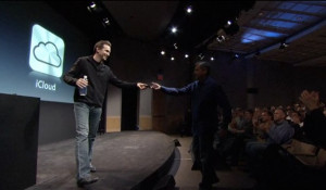 ... (iPhone 4S introduction, Scott Forstall hands it over to Eddy Cue