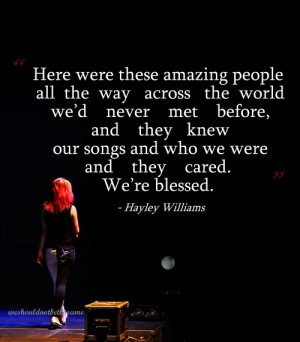 hayley hayley williams paramore quote