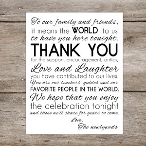 Thank You Family And Friends Quotes Thank you family friends