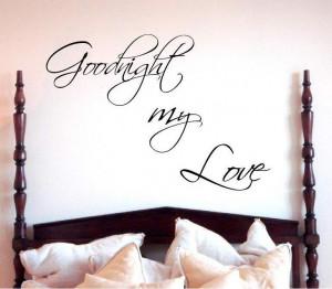 Good Night My Love