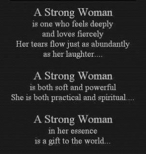 ... this quote when i seen it on free pictures and quotes strong woman