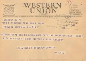 congratulatory telegram 1950 telegrams poured in from around the ...