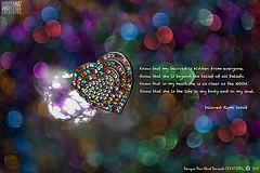 Know that in my heart she is as clear as the MOON - - beloved Rumi ...
