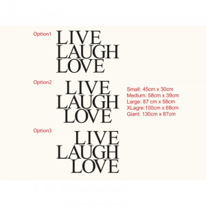 Live Laugh Love Sayings And Quotes Live laugh love quote wall