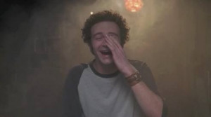 Steven Hyde (That '70s show), smoking weed in Eric Foreman's basement.