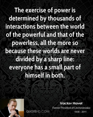 vaclav havel power quotes