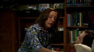 Sheldon's mom singing