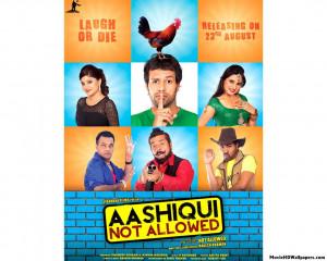 ... Not Allowed Punjabi Poster 540x432 Aashiqui Not Allowed Punjabi Poster