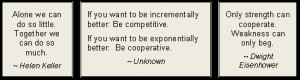 Cooperation Quotes - Team Quotes about Working Together