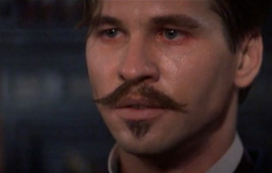 DOC HOLLIDAY: A man like Ringo…got a great empty hole right through ...