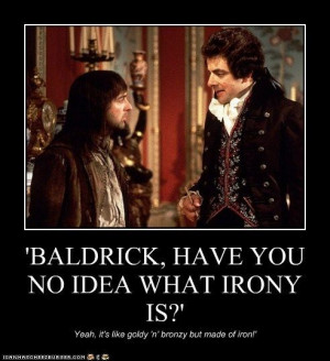 Blackadder Quotes, British Tv, General Awesome