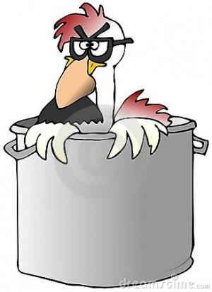 Funny Cartoon Chicken Soup