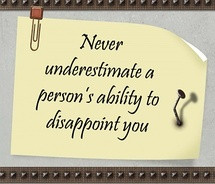 Disappoint Quotes