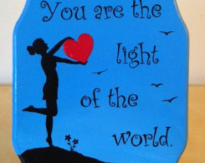 Painted Plaque with A Course In Miracles quote