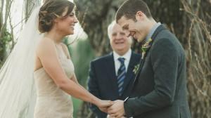 Zach Gilford and Kiele Sanchez were married on Dec. 29 in Napa, Calif.