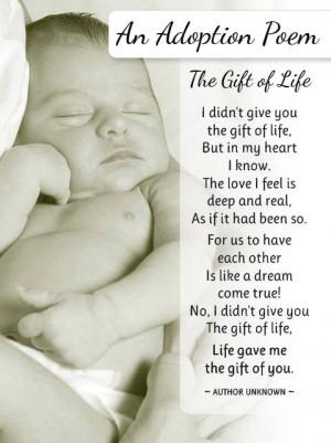 adoptive mother poem