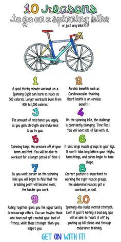 Fantastic reasons to try spinning! More