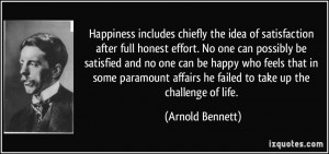 paramount affairs he failed to take up the challenge of life. - Arnold ...