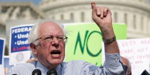 Sen. Bernie Sanders (I-Vt.) delivered an impassioned speech on ...