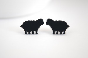 Funny Black Sheep Quotes Black sheep earrings.