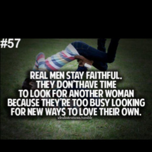 Do real men exist?? Yes they do, I'm blessed to have one :)