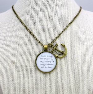 Of Monsters and Men - Little Talks Inspired Lyrical Quote Pendant ...