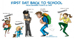 Wordless Wednesday: Hilarious Back To School Cartoons (Yes, already)