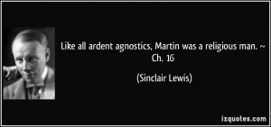 More Sinclair Lewis Quotes