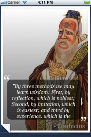 Confucius Quotes :: Quoteland :: Quotations by Author