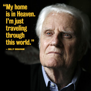 Billy Graham Near 'Going Home?' Franklin and Will Graham Give Grim ...
