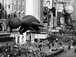 The Macy's Thanksgiving Day Parade, Times Square, New York City ...